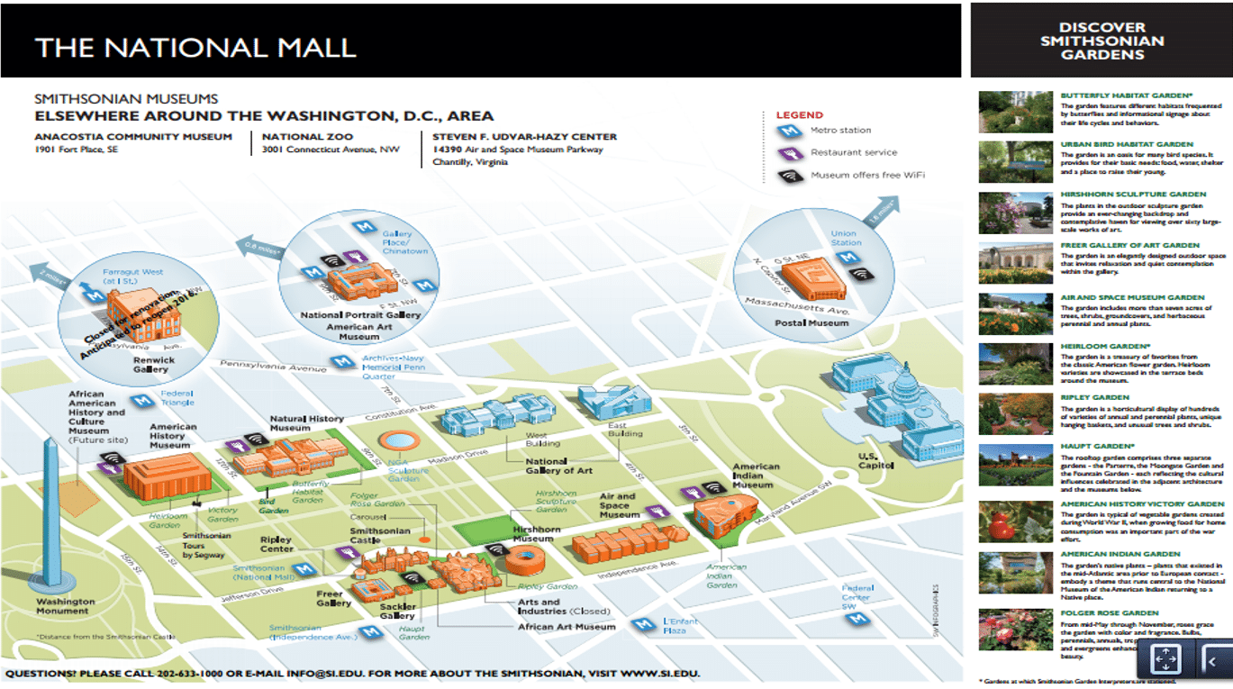 This is a graphic of Hilaire National Mall Map Printable