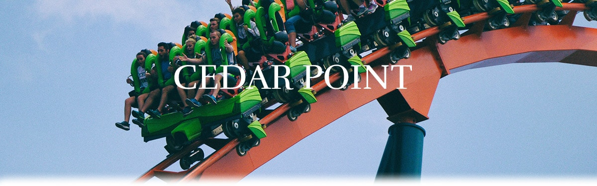 Cedar Point itinerary